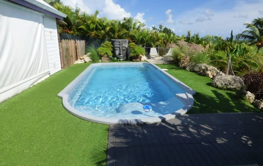 Location de vacances - Gîte à Saint-François - La piscine