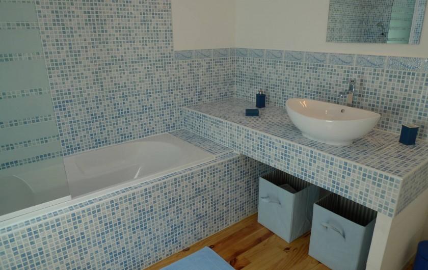 Location de vacances - Gîte à Neuvicq-le-Château - Salle de bain