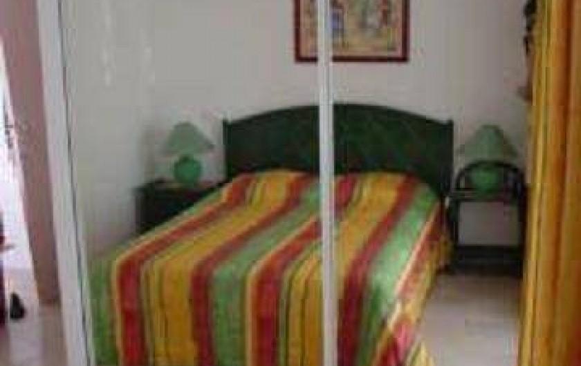 Location de vacances - Appartement à Le Gosier - Appartement F3 Etage  Chambre 2