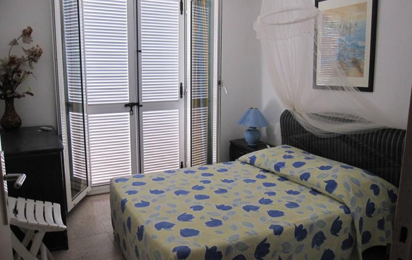 Location de vacances - Appartement à Le Gosier - Appartement F3 Etage Chambre 1