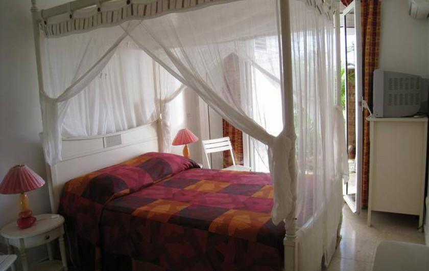 Location de vacances - Appartement à Le Gosier - Appartement F3   Chambre 1