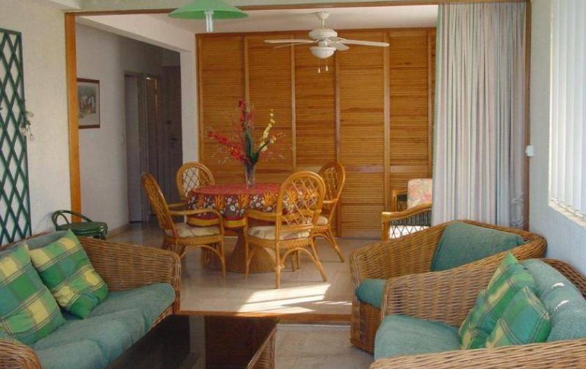 Location de vacances - Appartement à Le Gosier - Appartement 2 Etage SEJOUR