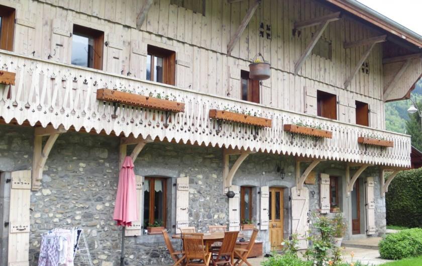 Location de vacances - Appartement à Samoëns - PHOTO DE LA MAISON EN GENERAL