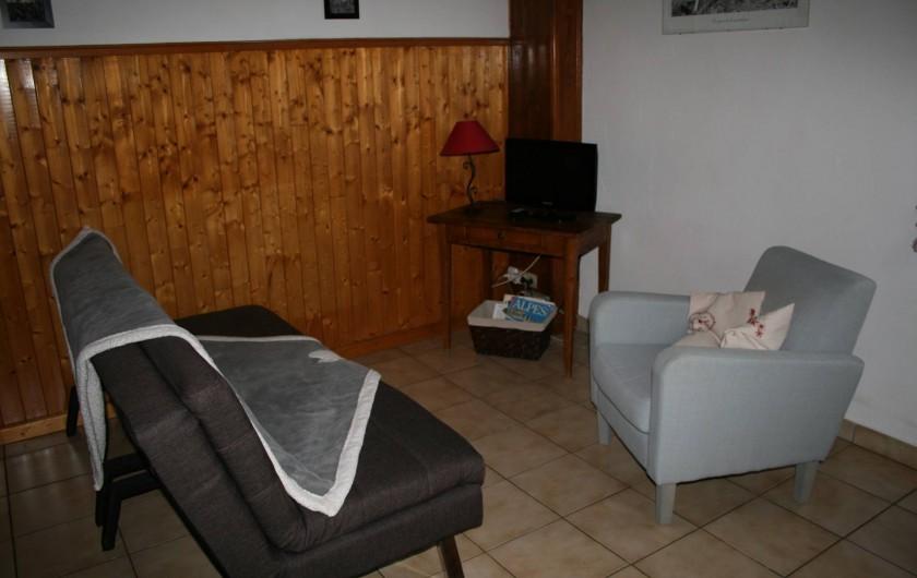 Location de vacances - Appartement à Samoëns - COIN TELEVISION