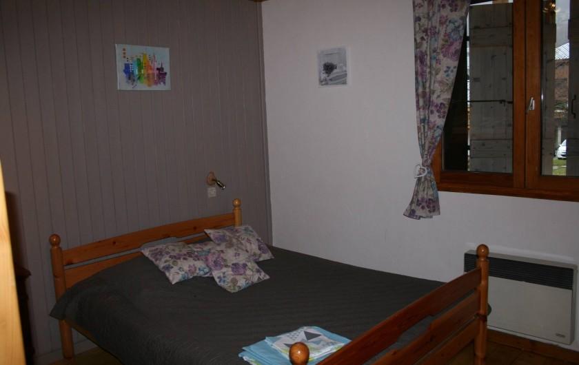 Location de vacances - Appartement à Samoëns - CHAMBRE N°2