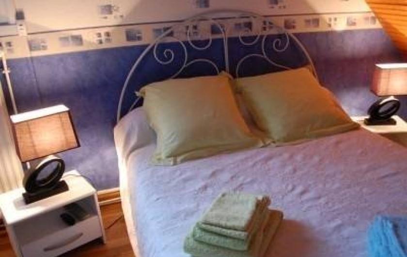 Location de vacances - Chambre d'hôtes à Cauville-sur-Mer - Chambre Hortensia