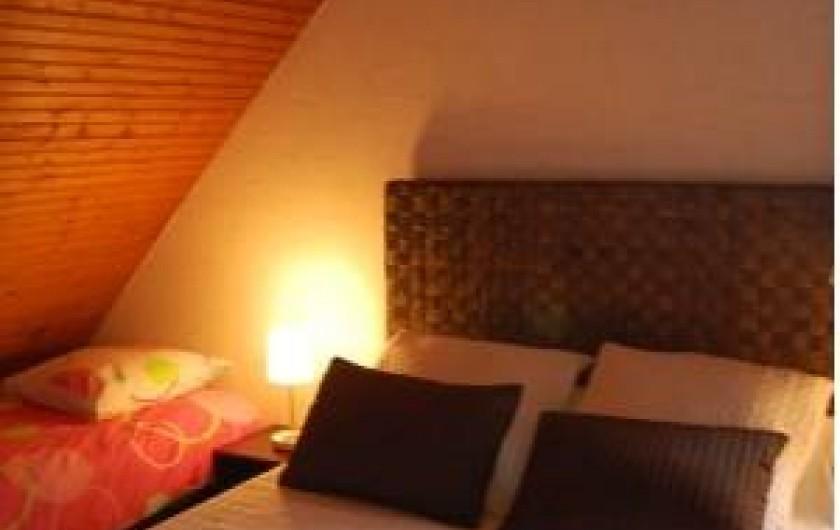 Location de vacances - Chambre d'hôtes à Cauville-sur-Mer - Chambre Myosotis