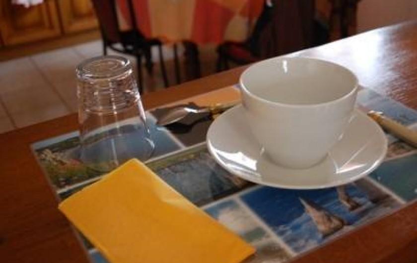 Location de vacances - Chambre d'hôtes à Cauville-sur-Mer - Petit Déjeuner