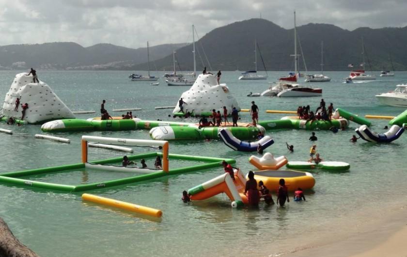 Location de vacances - Studio à Sainte-Anne - Parc Aquatique plage de l' Anse Caritan Saint-Anne MARTINIQUE