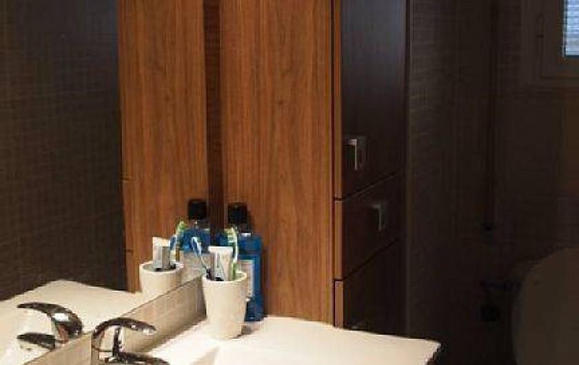 Location de vacances - Appartement à Santa Pola - salle d eau