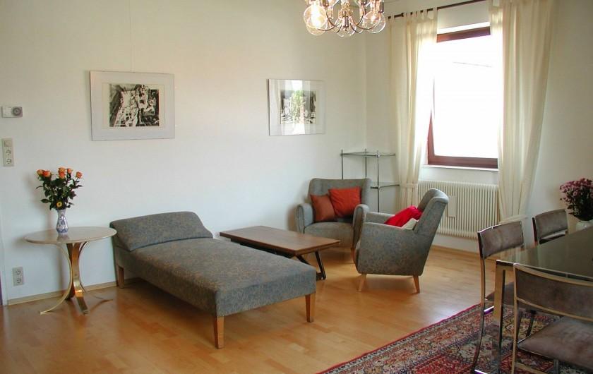 Location de vacances - Appartement à Vienne - Living