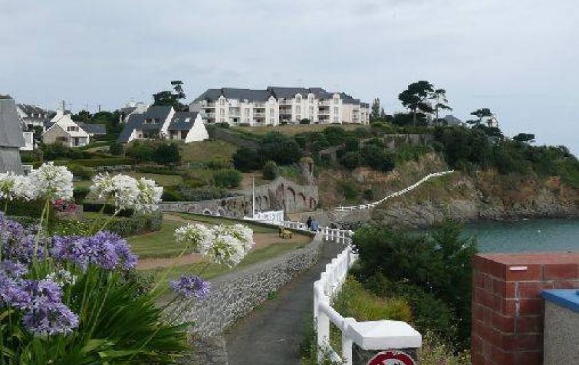 Location de vacances - Appartement à Saint-Quay-Portrieux - vue de la résidence