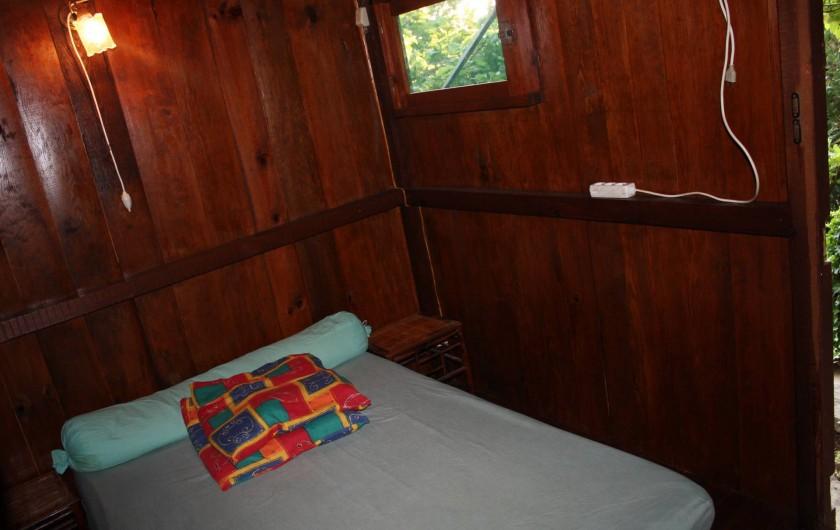 Location de vacances - Maison - Villa à Pietrosella - chambre lit deux places.