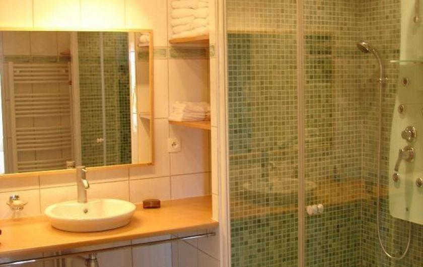 Location de vacances - Gîte à Conne-de-Labarde - Salle de bains chambre 1