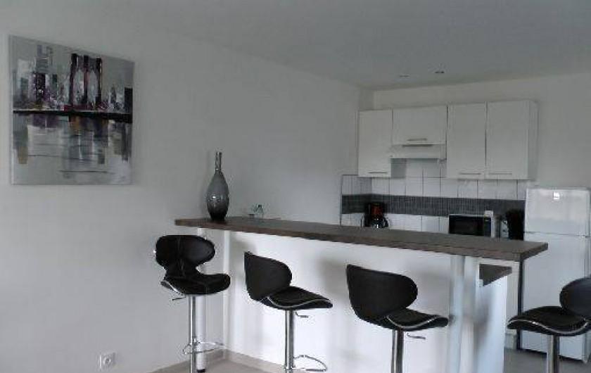 Location de vacances - Appartement à Porto-Vecchio - Cuisine équipée, lave linge, lave vaisselle, fours...