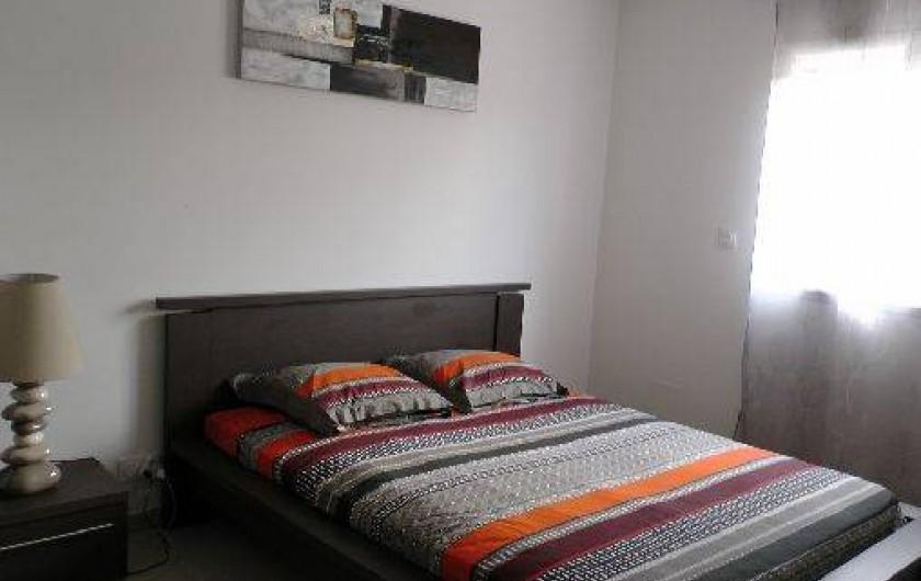 Location de vacances - Appartement à Porto-Vecchio - Chambre climatisée , lit en 160cm