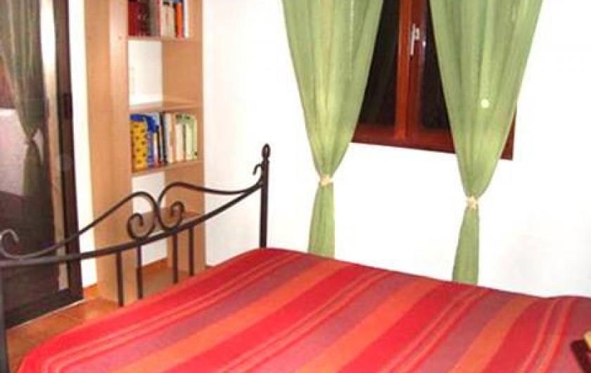 Location de vacances - Villa à Saint-Florent - chambre parent