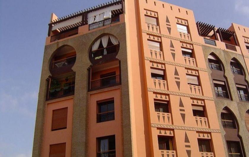 Location de vacances - Appartement à Marrakech