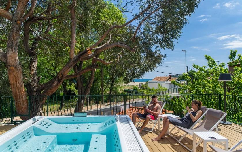 Location de vacances - Camping à Argelès-sur-Mer - Spa