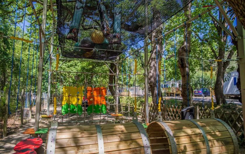 Location de vacances - Camping à Argelès-sur-Mer - Aire de jeux enfants
