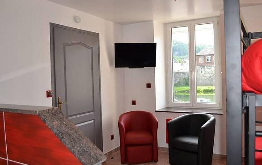 Location de vacances - Chambre d'hôtes à Bogny-sur-Meuse - Chambre Familiale