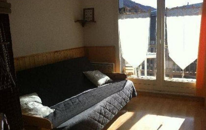Location de vacances - Studio à La Foux d'Allos - salle de séjour