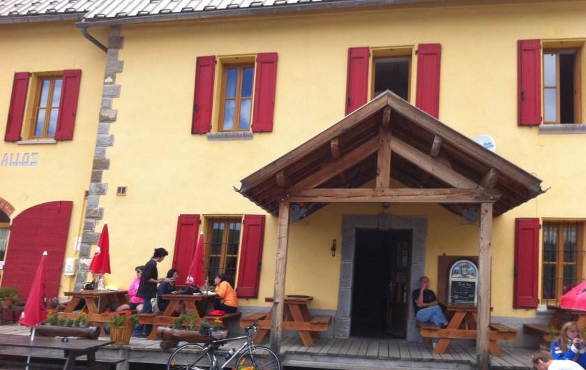Location de vacances - Studio à La Foux d'Allos - le refuge du Col d'Allos Point d'entrée du parc du Mercantour