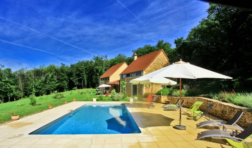 Chambres d'hôtes de Charme entre Lascaux et Sarlat avec piscine chauffée