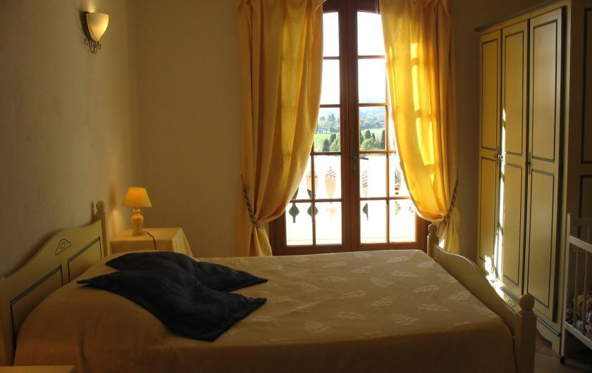 Location de vacances - Villa à Cannes - Suite étage villa provençale
