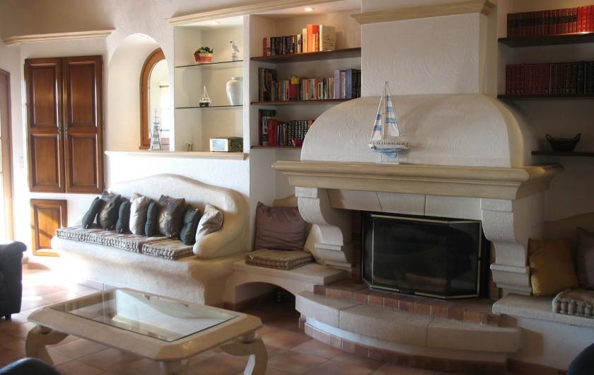 Location de vacances - Villa à Cannes - Sa salle d'eau