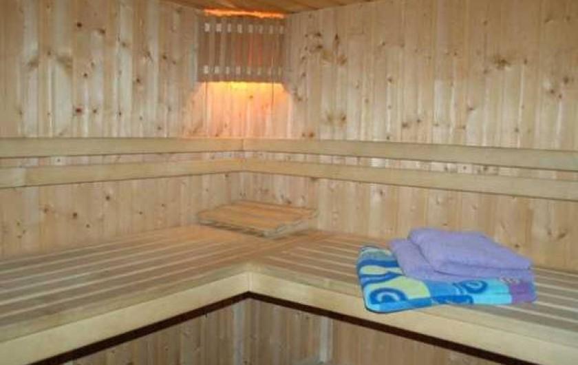 Location de vacances - Gîte à Malmedy - Le sauna