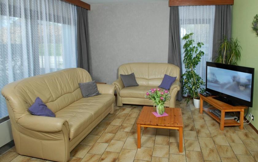 Location de vacances - Gîte à Malmedy - Le salon