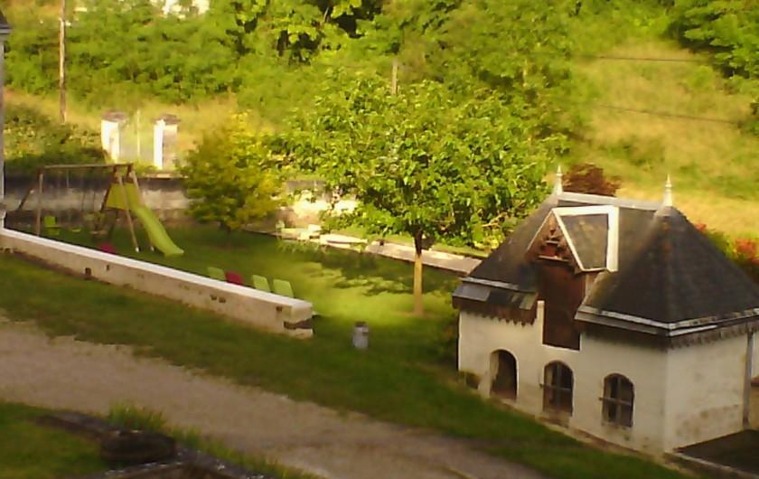 Location de vacances - Gîte à Bourré - Vue du gîte