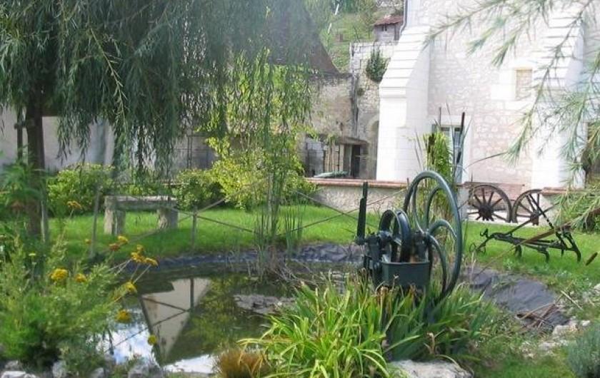 Location de vacances - Gîte à Bourré - Jardin