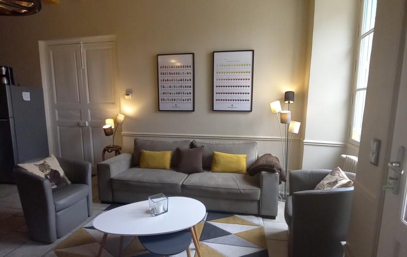 Location de vacances - Gîte à Bourré - Le salon