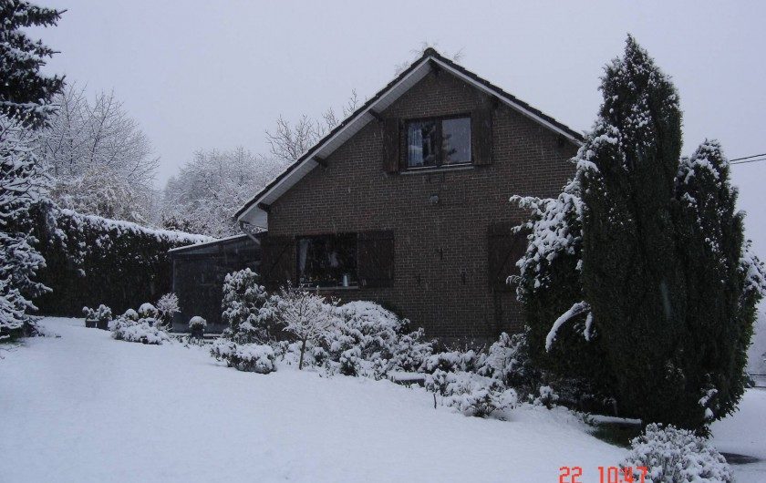 Location de vacances - Gîte à Aywaille - Les Fuchsias en hiver