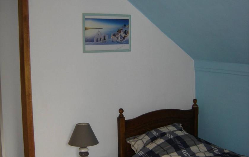 Location de vacances - Gîte à Aywaille - La chambre 1 personne