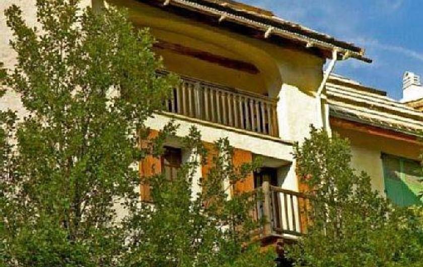 Location de vacances - Maison - Villa à Saint-Dalmas-le-Selvage - Façade sud