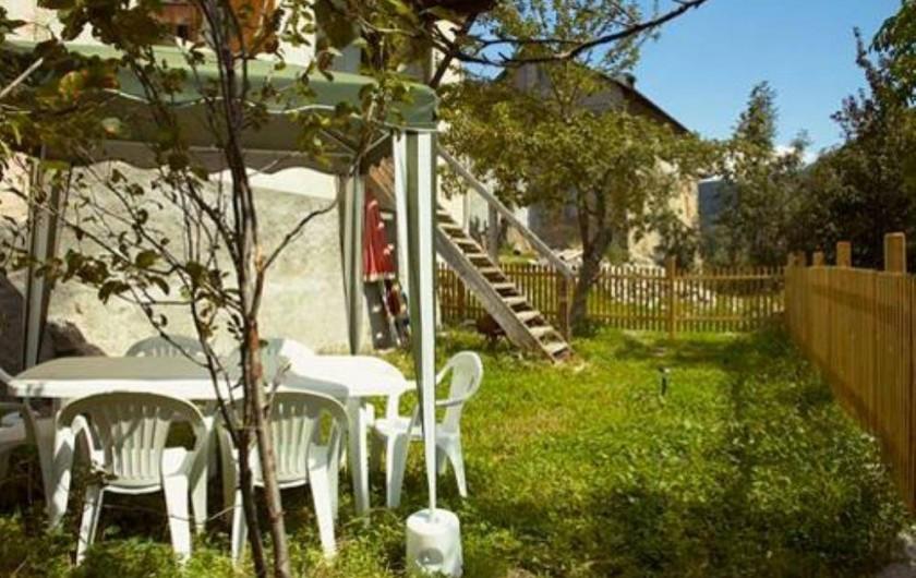 Location de vacances - Maison - Villa à Saint-Dalmas-le-Selvage - Jardin