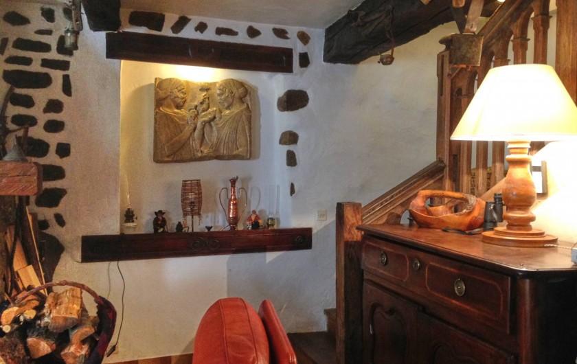Location de vacances - Maison - Villa à Saint-Dalmas-le-Selvage - Escalier