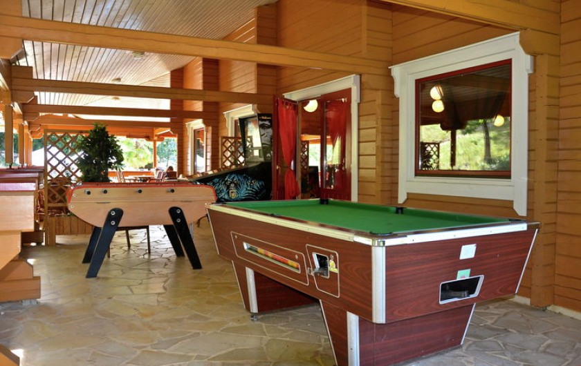Location de vacances - Chalet à Mauroux - Terrasse de bar