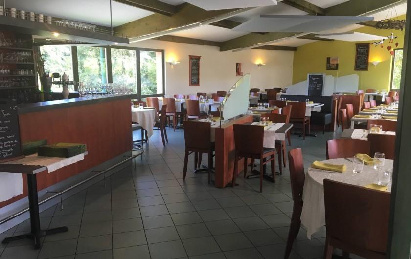 Location de vacances - Camping à Altkirch - Salle du restaurant