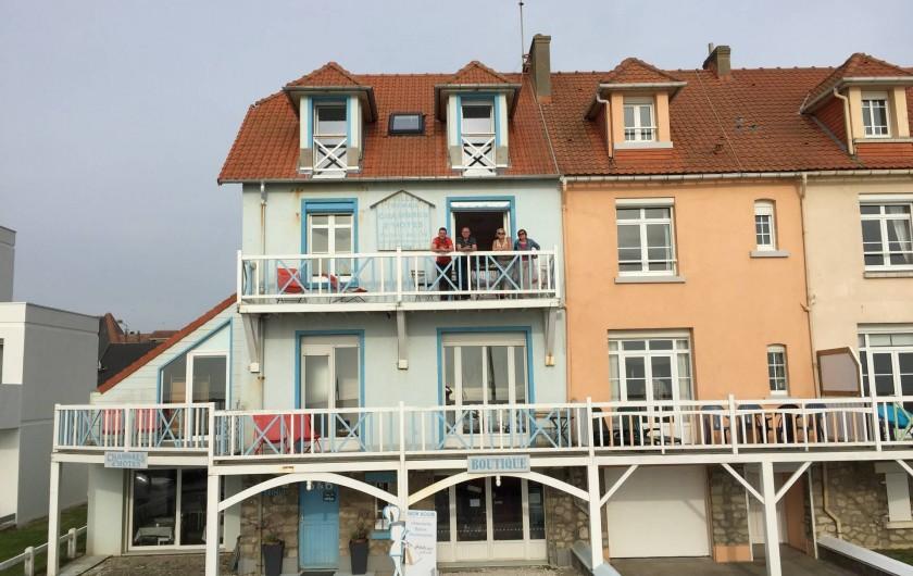 Location de vacances - Chambre d'hôtes à Wimereux