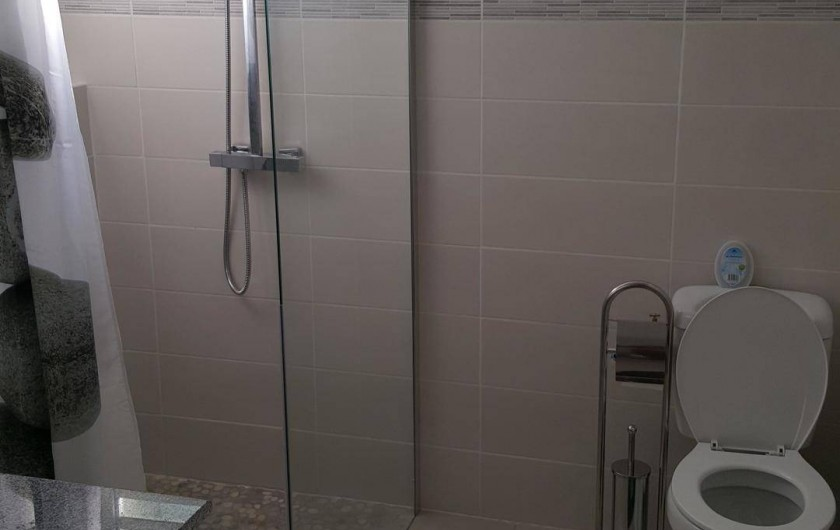 Location de vacances - Appartement à Terre-de-Haut - Salle de Bain & Toilette