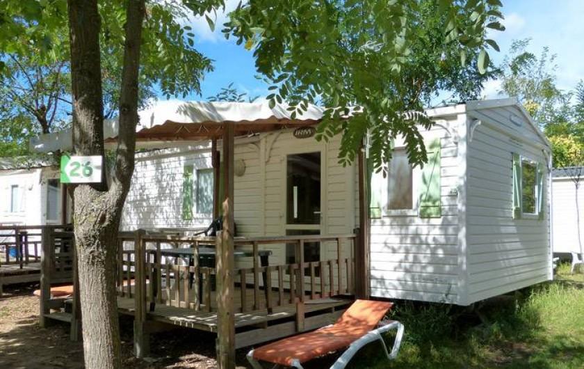 Location de vacances - Camping à Joyeuse - Mobil homes O'Hara 2ch
