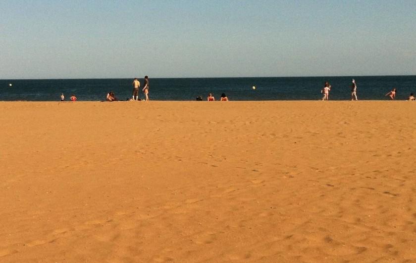 Location de vacances - Bungalow - Mobilhome à Valras-Plage - Plage de Valras Plage