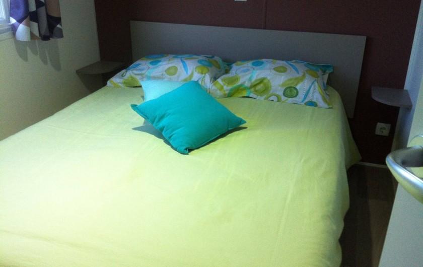 Location de vacances - Bungalow - Mobilhome à Valras-Plage - Suite parentale