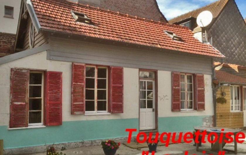 Location de vacances - Maison - Villa à Le Touquet-Paris-Plage - maison LA JOIE -  5 couchages ,2 chambres /terrasse , chaises, cour partagée