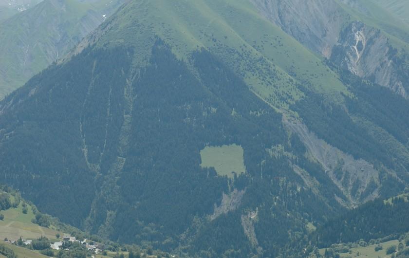 Location de vacances - Appartement à Le Corbier - séjour et cuisine