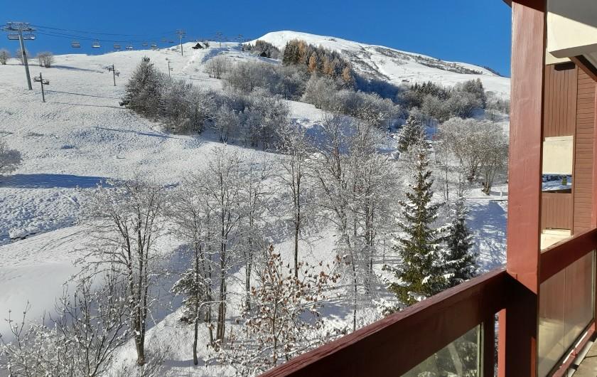 Location de vacances - Appartement à Le Corbier - Alcôve indépendante